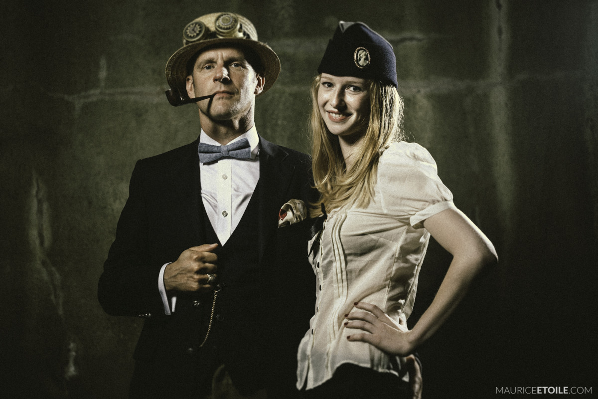 FARK 2015 Steampunk Paar
